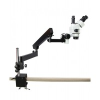 Table Clamping Pillar Stand Stereo Zoom Binocular